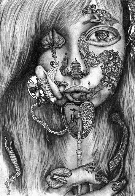 the grotesque beauty of portraits sarah tse